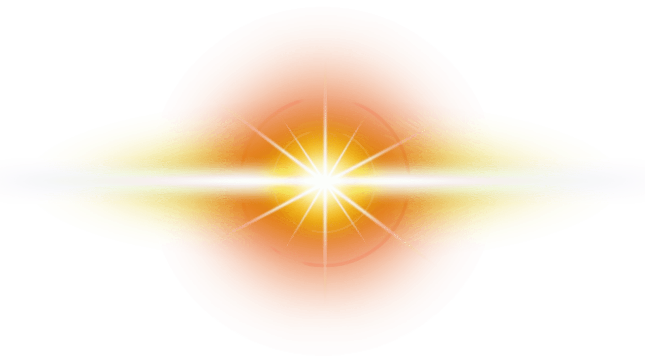 Orange lens flare clipart images gallery for free download.