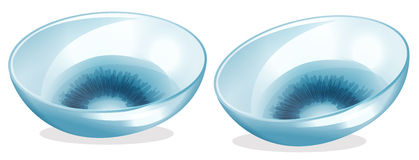 Clipart contact lenses.