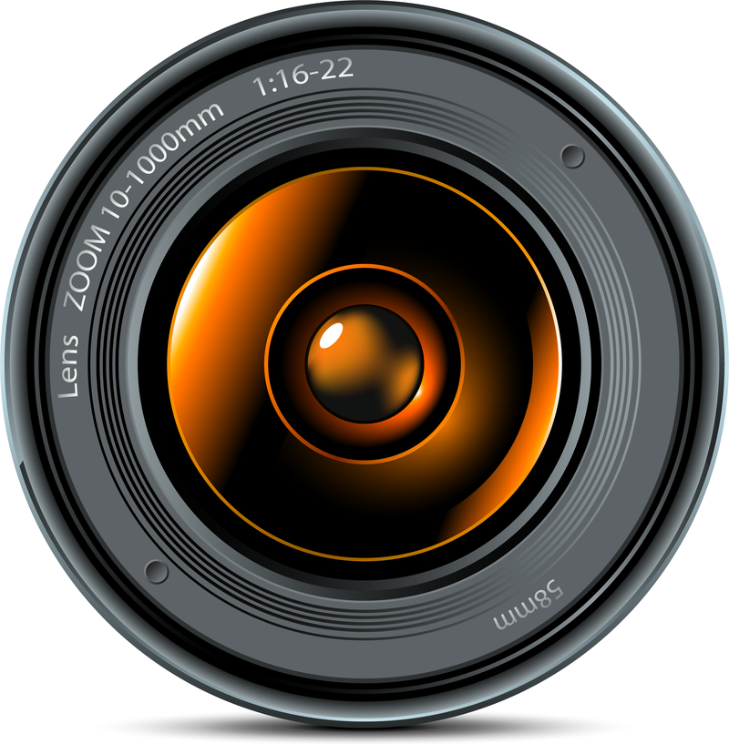Lente de camara vector png 4 » PNG Image.