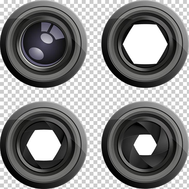 Fotografía de la lente de la cámara, lente de la cámara PNG.