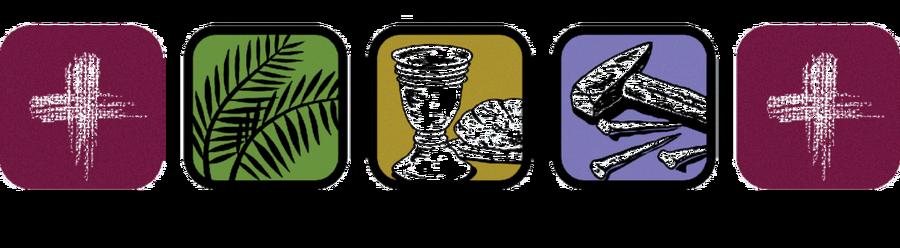 Lenten Symbols.