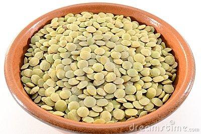 Lentils Stock Images.