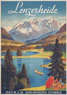 nice poster from Lenzerheide.