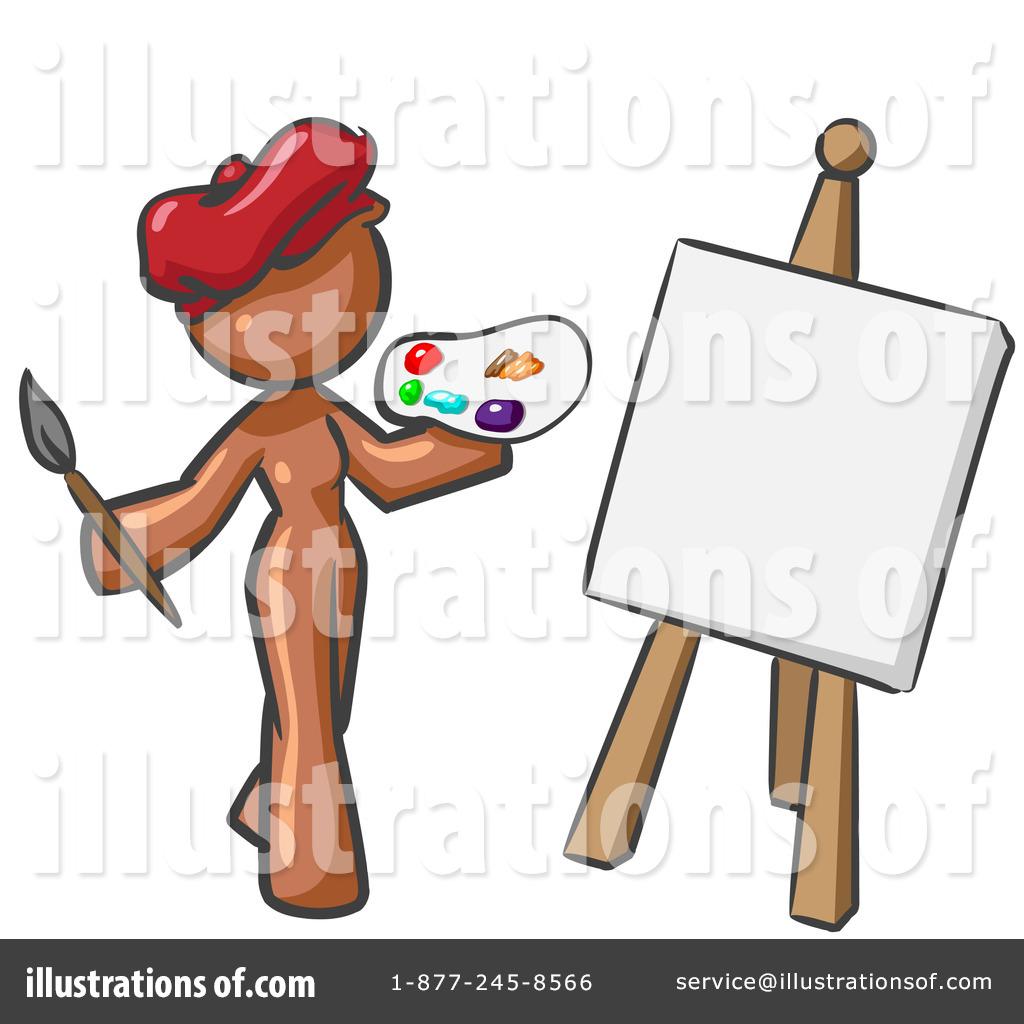 Artist Clipart #47592.