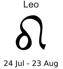 Leo clipart #6