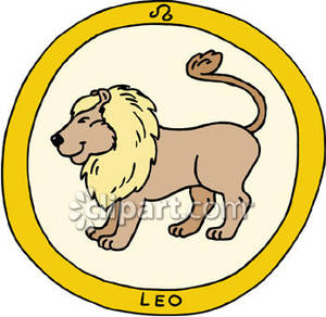 Leo Clip Art.