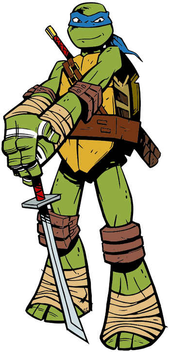Teenage Mutant Ninja Turtles Clip Art Images.