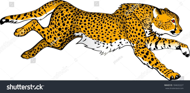 Leopard running clipart 7 » Clipart Portal.