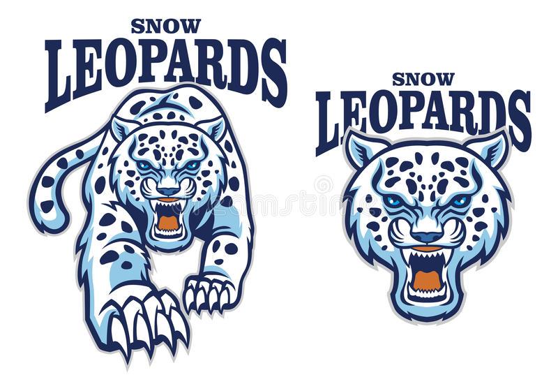 Leopard Mascot Stock Illustrations.