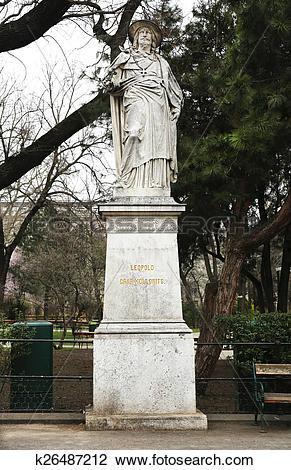 Stock Photo of Leopold Graf Kollonits Statue k26487212.