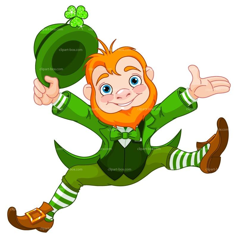 Irish Leprechaun Clipart.