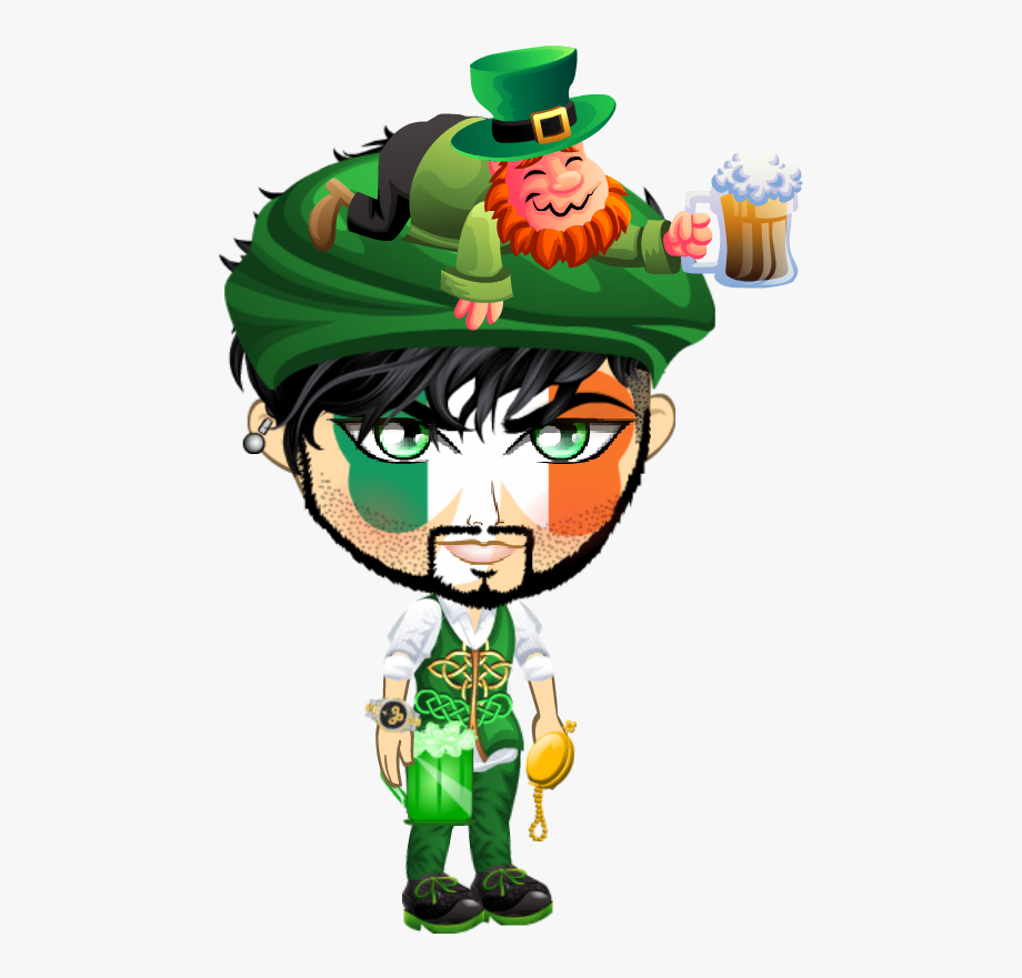 Leprechaun Clipart Pitcher.