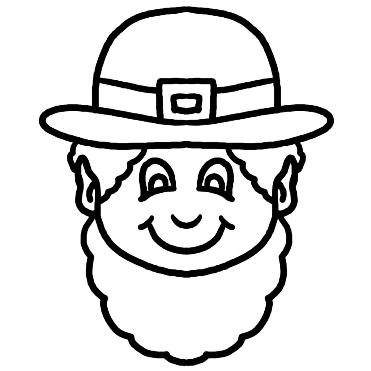 Free Leprechaun Outline, Download Free Clip Art, Free Clip.
