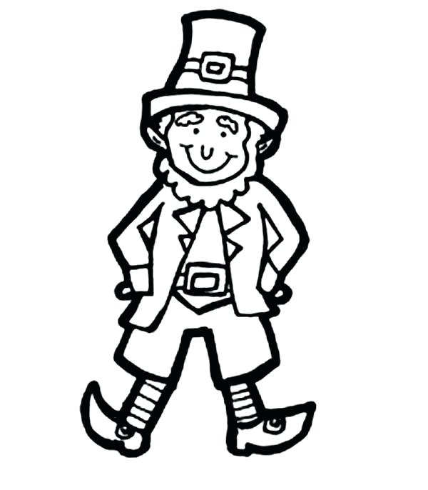 Leprechaun Coloring Pages To Print at GetDrawings.com.
