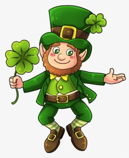 Free Leprechaun Clip Art with No Background.