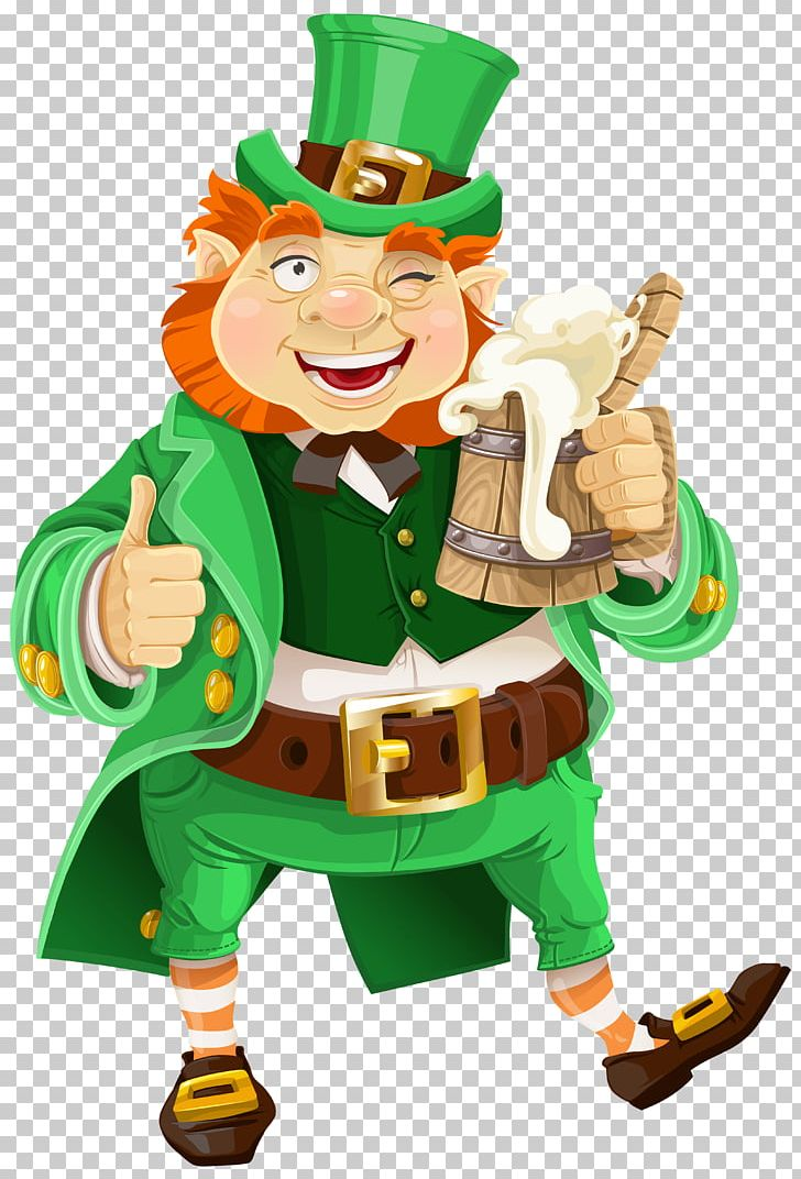 Leprechaun Beer Saint Patrick's Day PNG, Clipart, Beer.