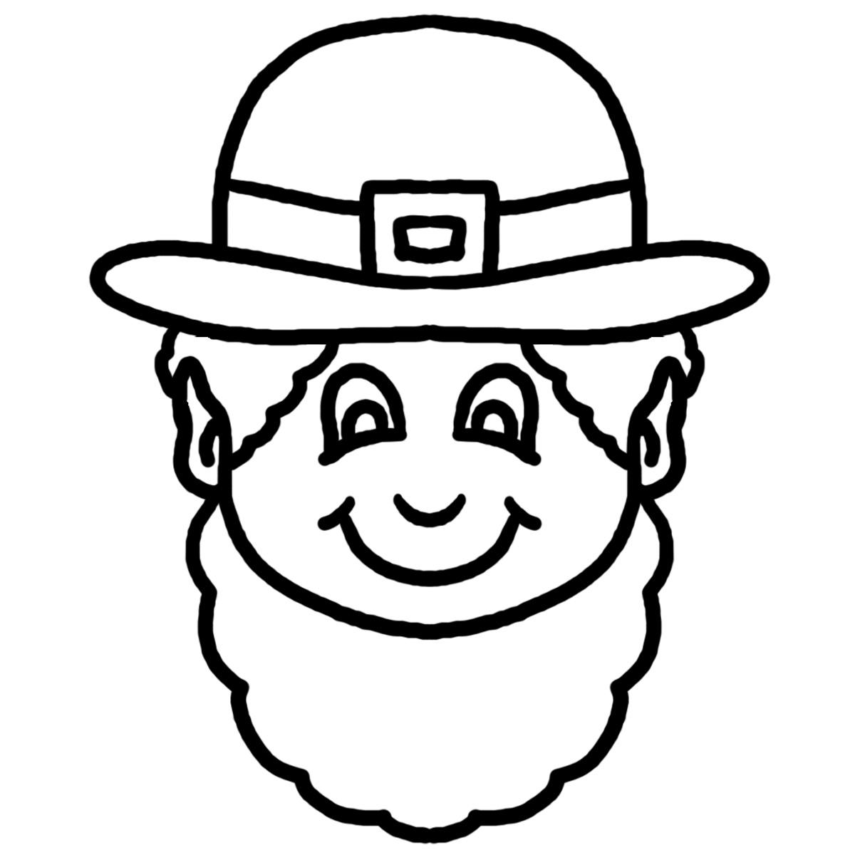 Clip Art: Leprechaun Hat with Four.