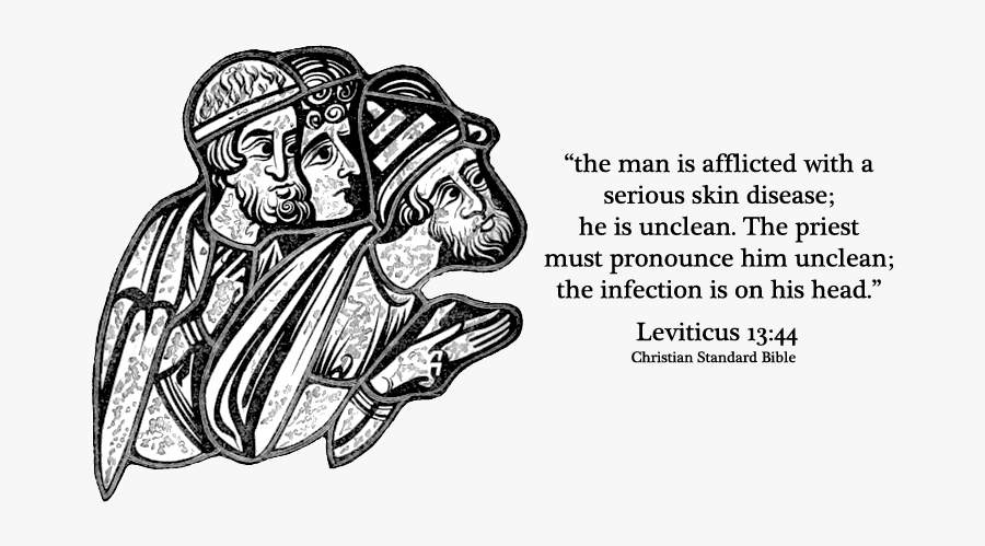 Biblical Verses On Leprosy , Free Transparent Clipart.