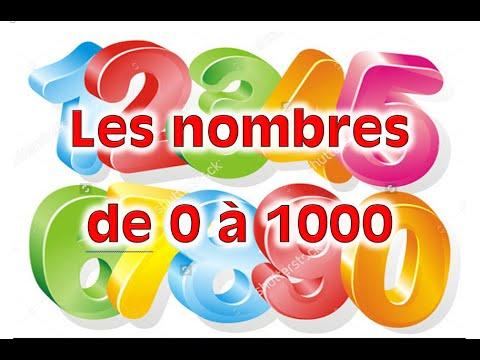 6 Les nombres de 0 à 1000 II الأرقام بالفرنسية.