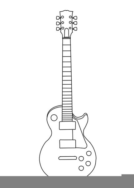 Gibson Les Paul Clipart.