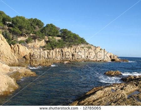 St Tropez Beach Stock Photos, Royalty.