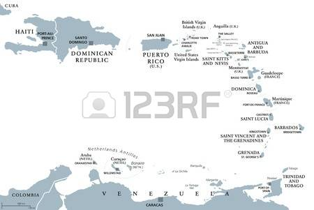 111 Guadeloupe Map Stock Vector Illustration And Royalty Free.