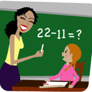 Math Lesson Clipart.