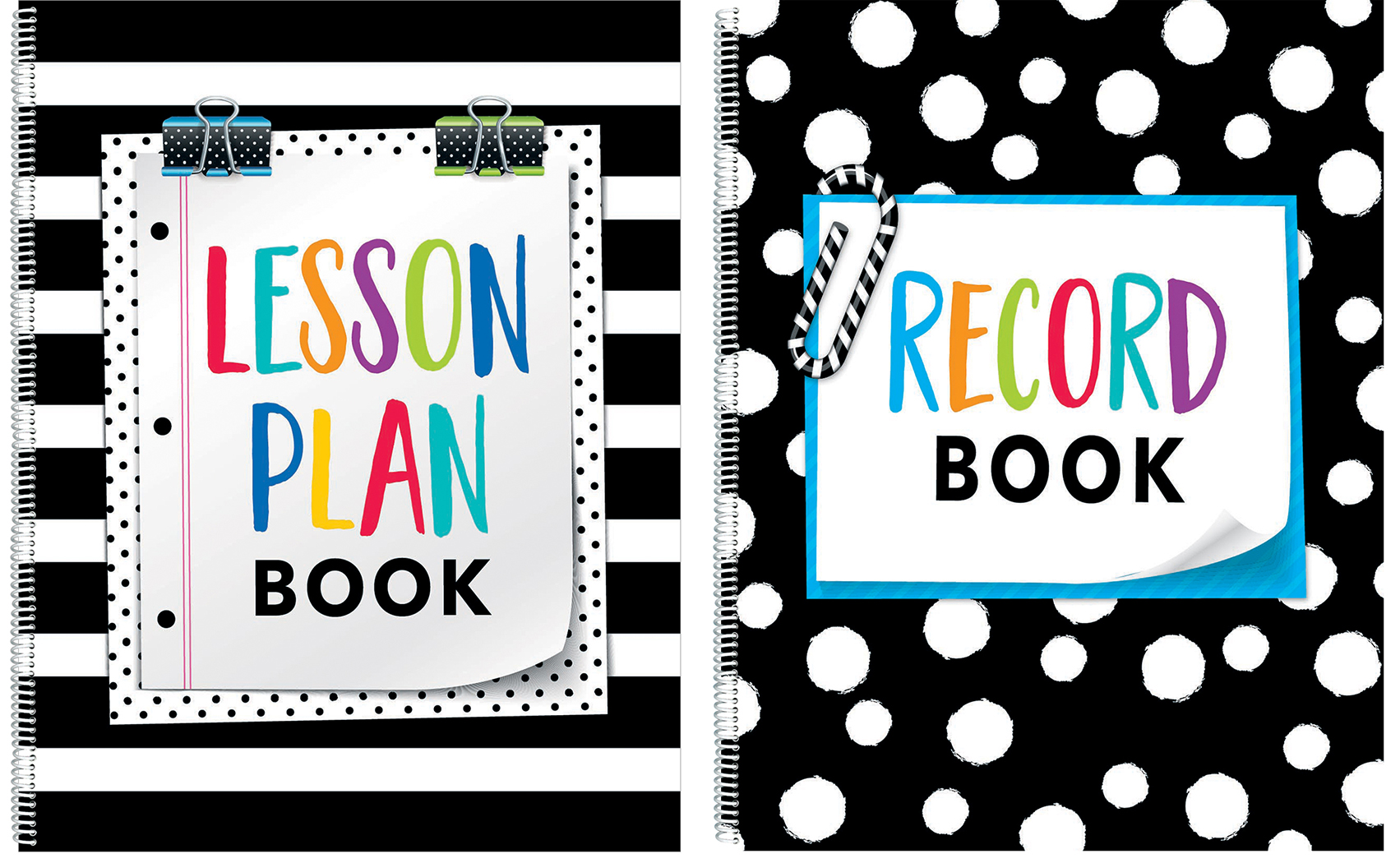 Lesson Plan and Record Books.