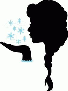 Let It Go Clipart Silhouette Clipground