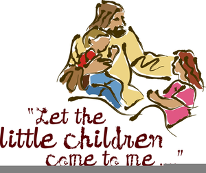 Children Jesus Clipart.
