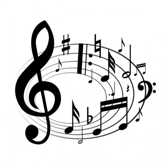 Musical notes single music notes clip art free clipart images 3.