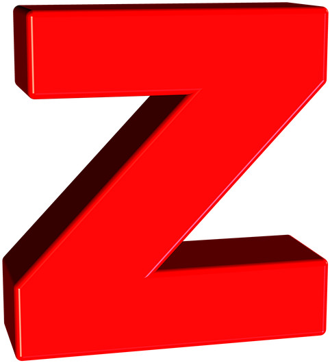 HD 3d Letter Z Png , Free Unlimited Download #1540374.