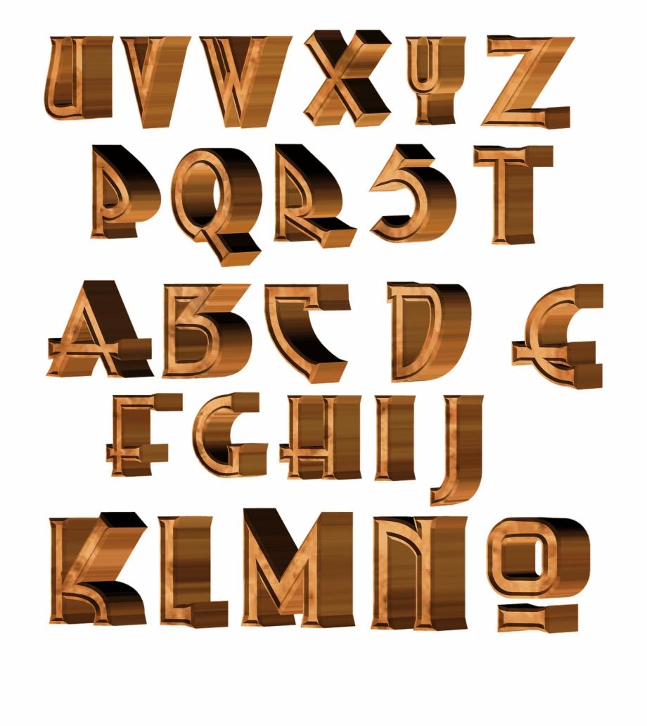 Lettre Alphabet 3d Png Free PNG Images & Clipart Download.