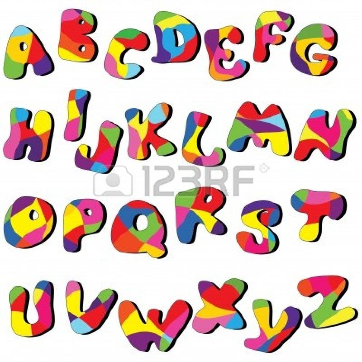 Alphabet Clipart For Kids.