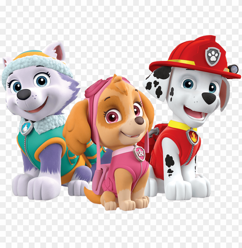 marshall skye everest paw patrol clipart png clip art.