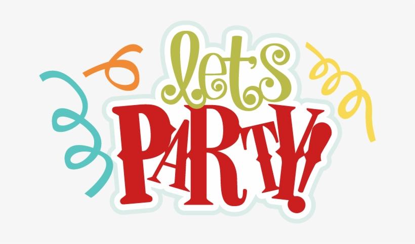 Confetti Clipart Lets Party.