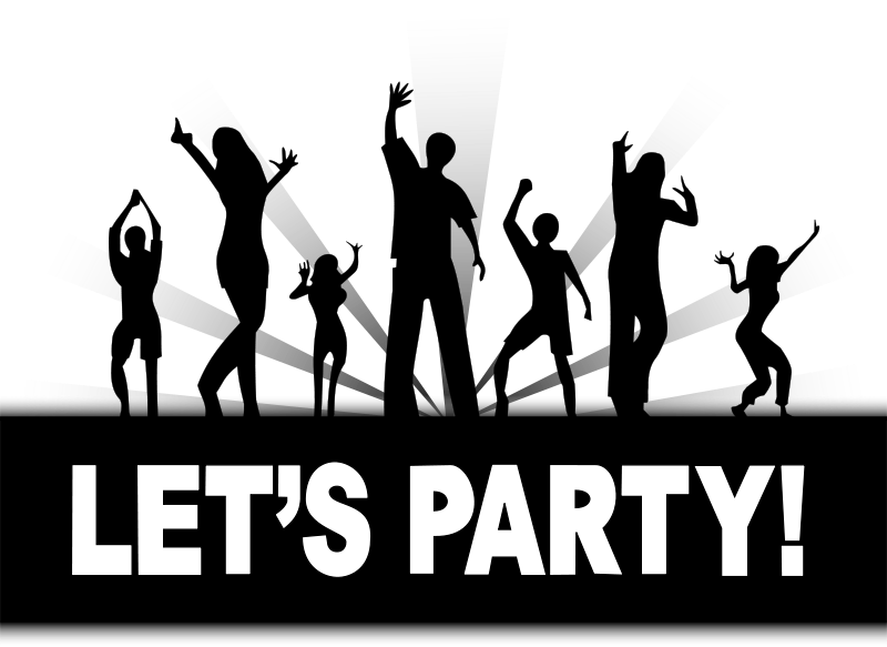 Free Clipart: Let's Party.