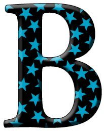 clipart of the letter b.