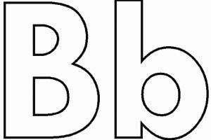Letter b clipart black and white 5 » Clipart Portal.