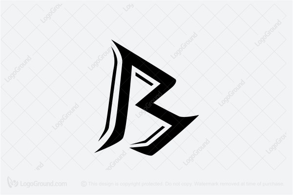 Exclusive Logo 81372, Letter B Logo.