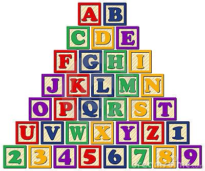 Block Letters Cliparts.