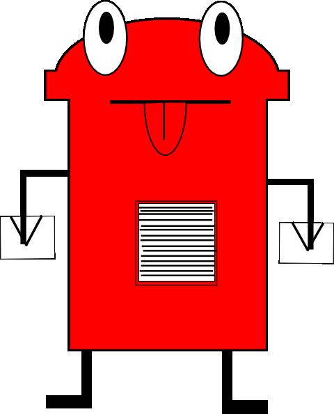 Post Box Clip Art at Clker.com.