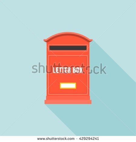 Letterbox Isolated Banco de imágenes. Fotos y vectores libres de.