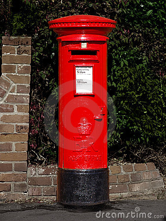 A Post Office Royalty Free Stock Photo.
