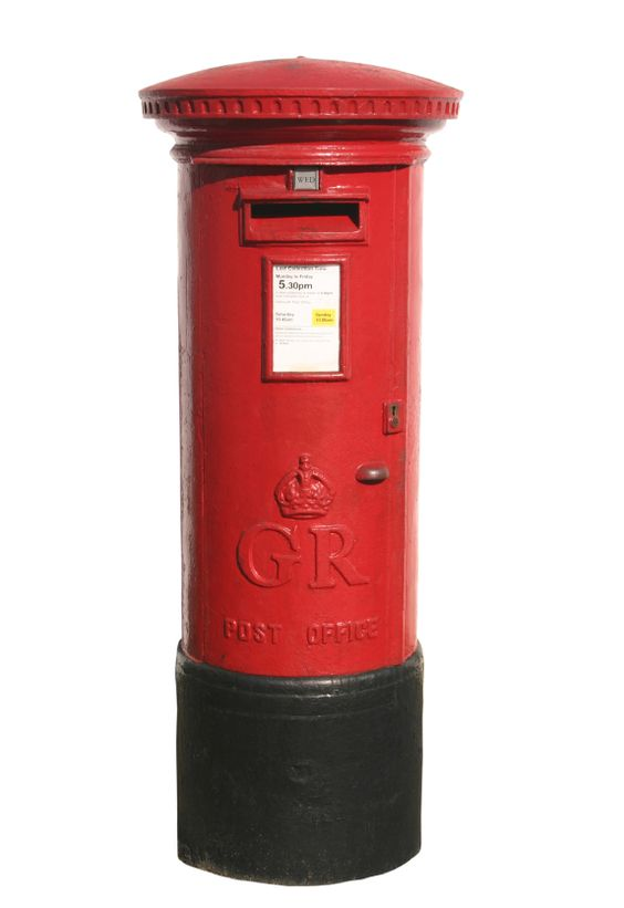 Red Postbox.