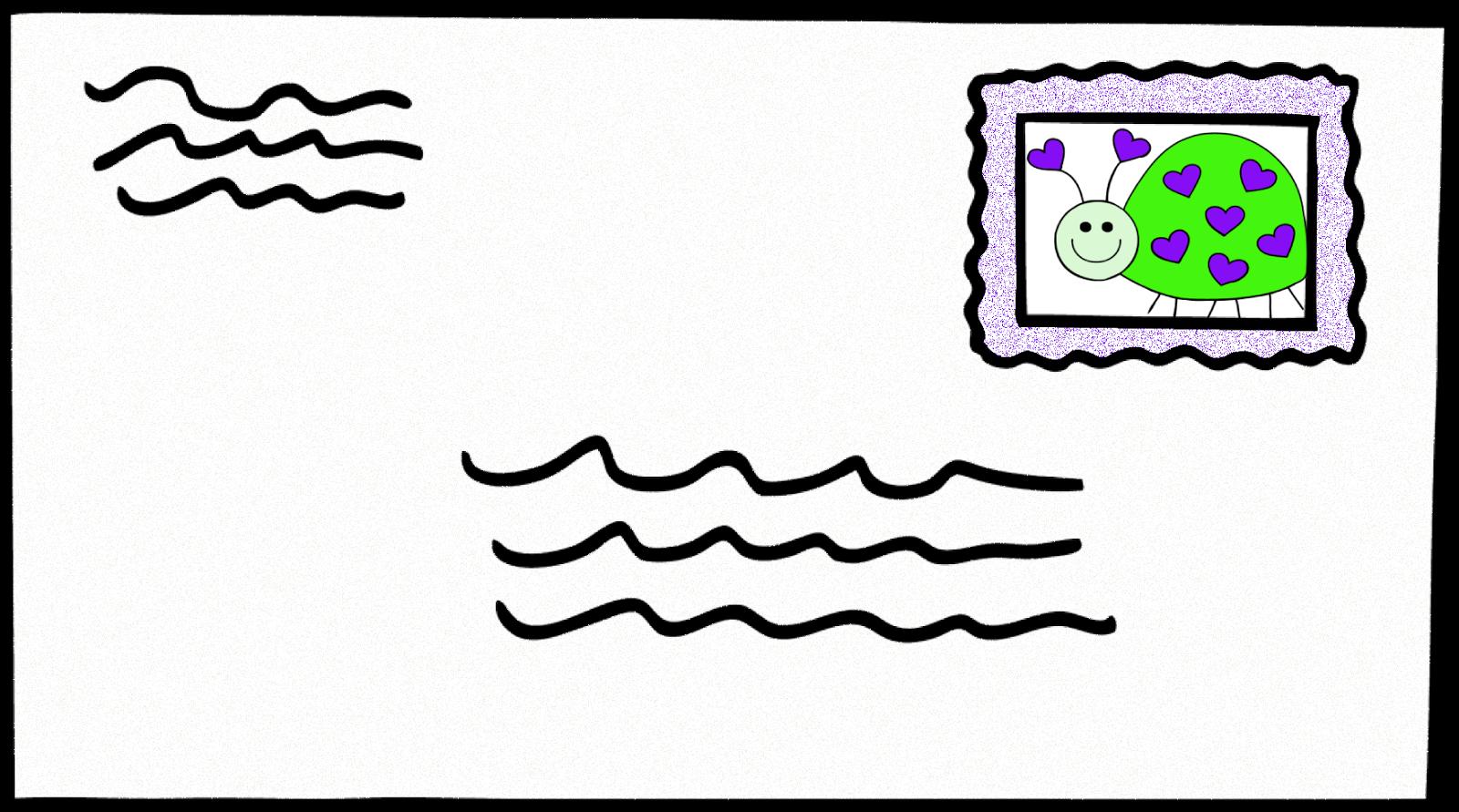 Free letter clip art clipart.