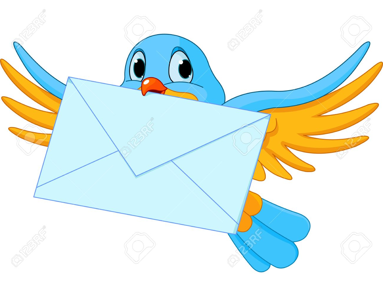 Mail letter clipart.