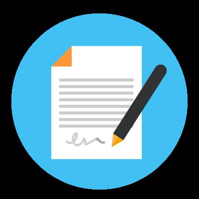 Application Letter Clipart.