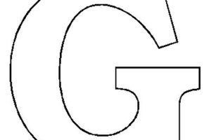 Letter g clipart black and white » Clipart Portal.