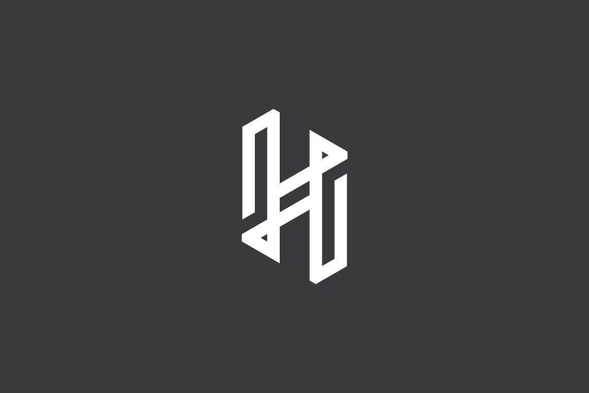 Premium Letter H Logo.